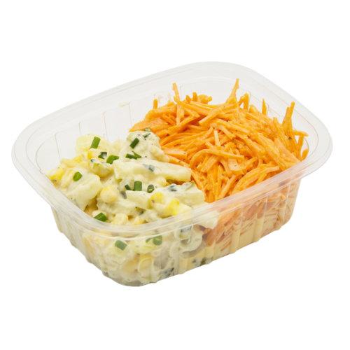66 Kartoffel-Rüeblisalat