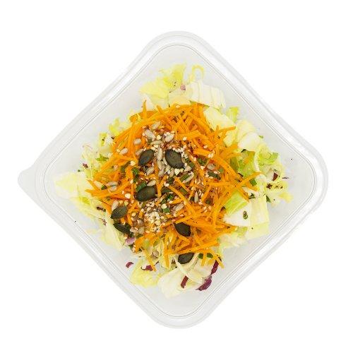 80 Grüner Salat mit Rüebli & Kernen