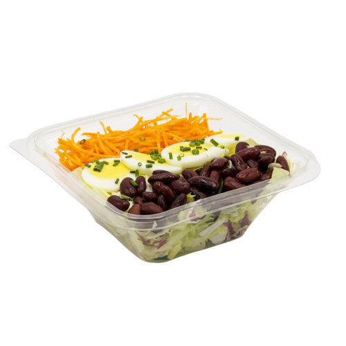 83 Grüner Salat mit roten Bohnen