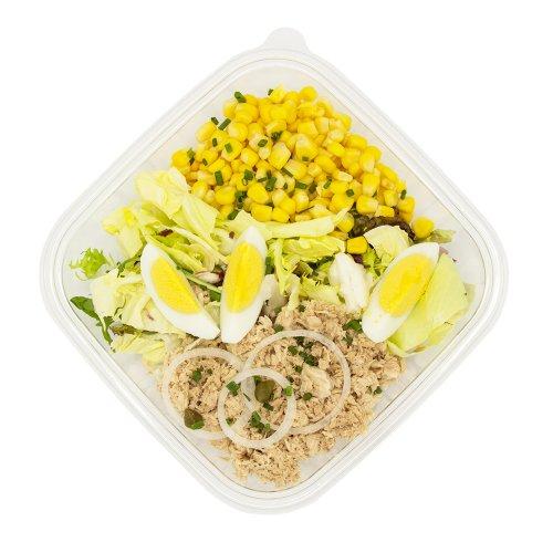 32 Gemischter Mais Thon Salat