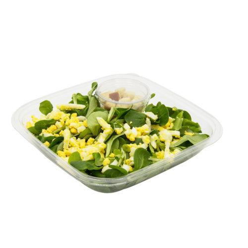 36 Nüssli-Salat mit Ei