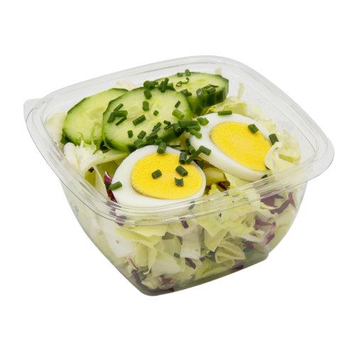 91 Grüner Salat mit Gurken & Ei