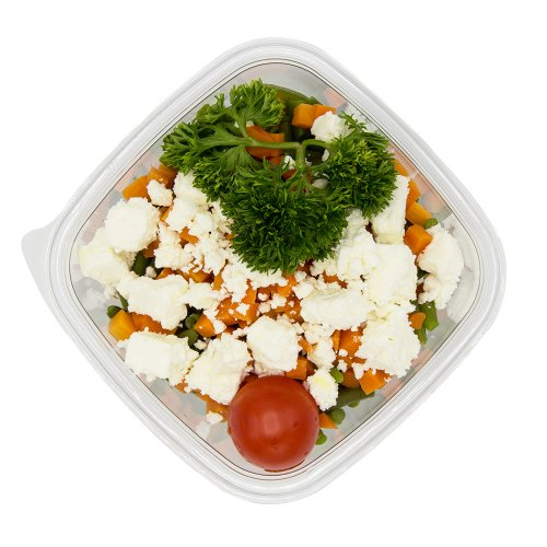 95 Bohnen-Feta Salat