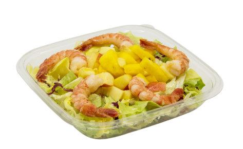 20 Saisonsalat mit Crevetten, 1.6.-31.7.